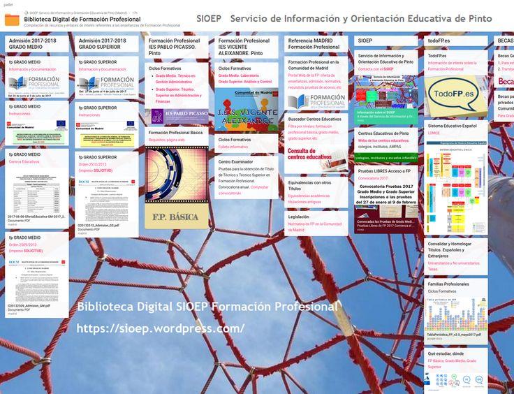 Biblioteca Digital de Formación Profesional #FP #formaciónprofesional #estudiar