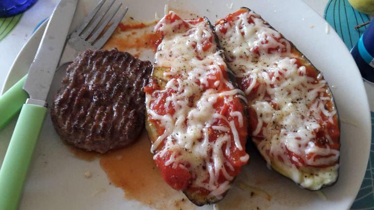 Teste et approuve aubergines rapides couper une aubergine en deux dans le sens de la longueur - Couper un tonneau en deux ...