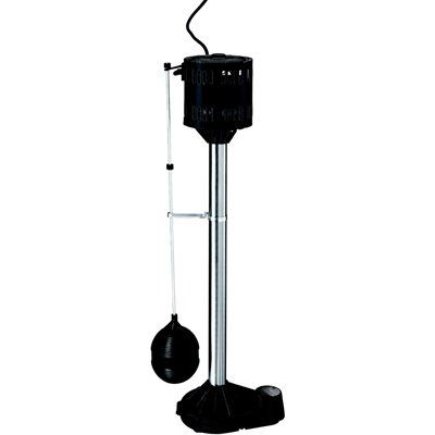 Simer 1/3 HP Cast Iron Pedestal Sump Pump