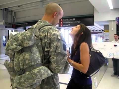 http://RingOnTheFinger.com - Videos of Marriage Proposals Sent in by Lovebirds Across the World  Jons first priority when he returned home from deployment was to ask his girlfriend Emily to marry him. It was a project 2 months in the making, and it went off without a hitch! Congratulations Jon & Emily!  Video sent in via the Submit page on ...