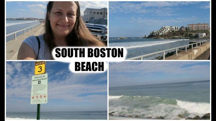 Stroll at Nantasket beach -South Boston -vlog