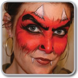 extreme face makeup | Face Painting and Body Painting in St. Louis MO by Jessica Hicklin ...