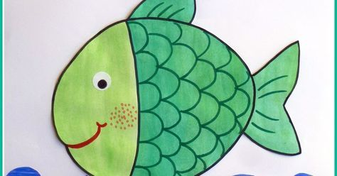"""La settimana del pesciolino """"Cambiacolore"""" (Per questa filastrocca mi sono isp..."""