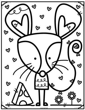 m preschool coloring pages - photo#36