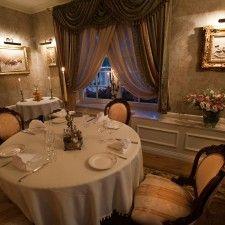 Restauracja Vivandier. Gabinet angielski