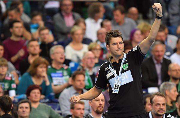 """SC DHfK Leipzig vs. Coburg. Christian Prokop """"Franz Semper hat hervorragend gespielt"""" Der SC DHfK Leipzig schlug in der Handball-Bundesliga den Aufsteig ..."""