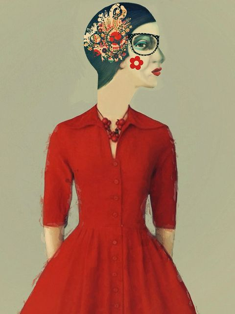 the red dress - sarah jarrett