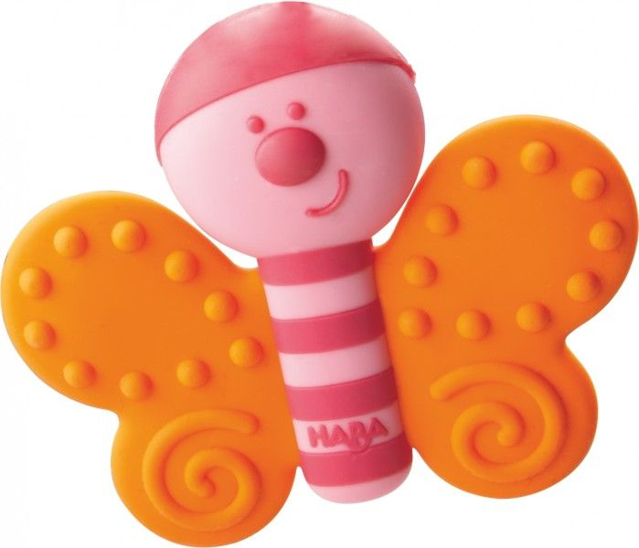 HABA Babyspielzeug Greifling Schmetterling - Bonuspunkte sammeln, auf Rechnung bestellen, DHL Blitzlieferung!