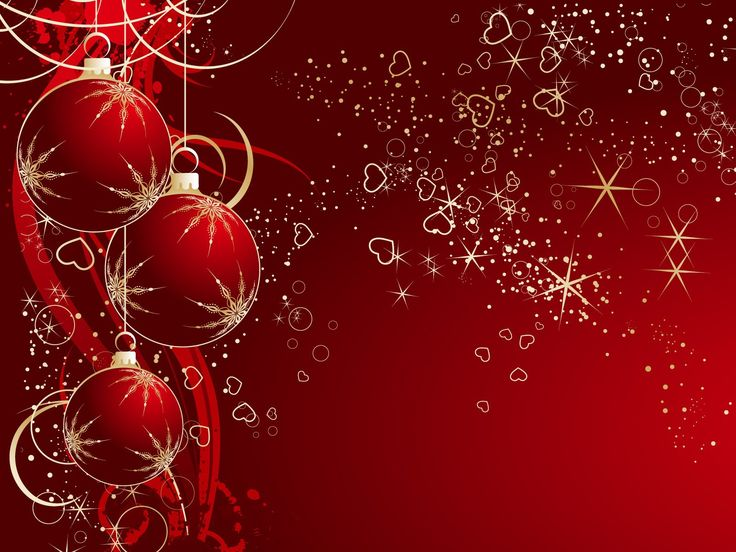 Holiday Wallpaper For Ipad: Red Christmas Toys Ipad Wallpaper Hd Free Download