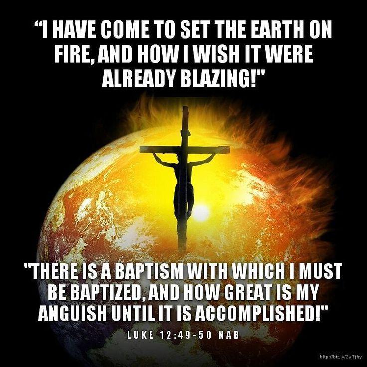 The Holy Gospel of Jesus Christ According to Saint Luke 12:49-53 (Twentieth…