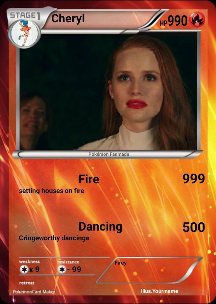 Cheryl Pokemon card
