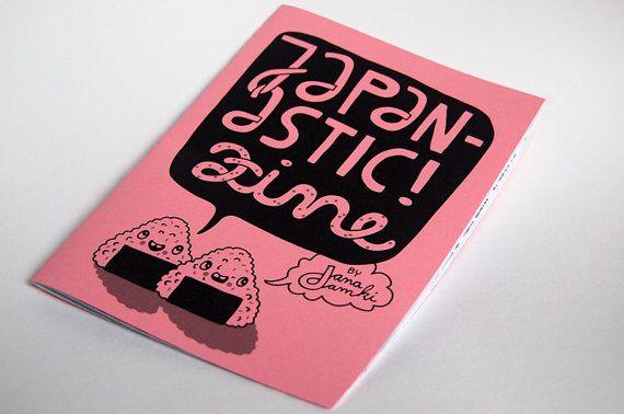 Zine about Japan JAPANASTIC  by danadamki by danadamki on Etsy, €5.00