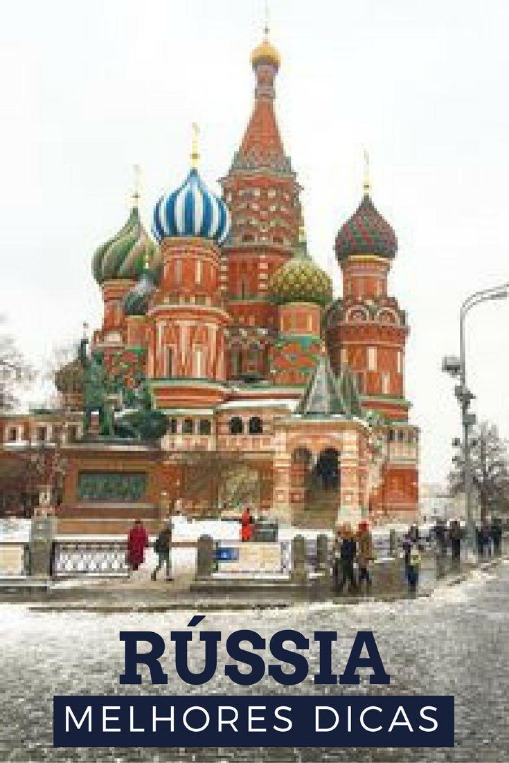 Tudo o que você precisa saber para visitar a Rússia. Que tal já começar a planejar a viagem para a Copa do Mundo de 2018 na Rússia?