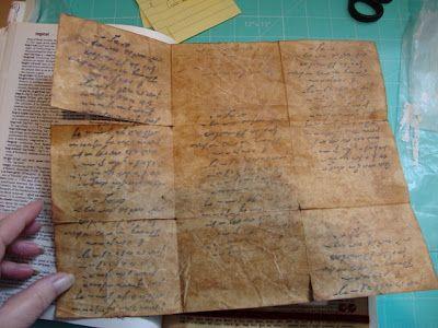 Scrap Happens Here: Tutorial - How to Make Paper Look Olde Worlde