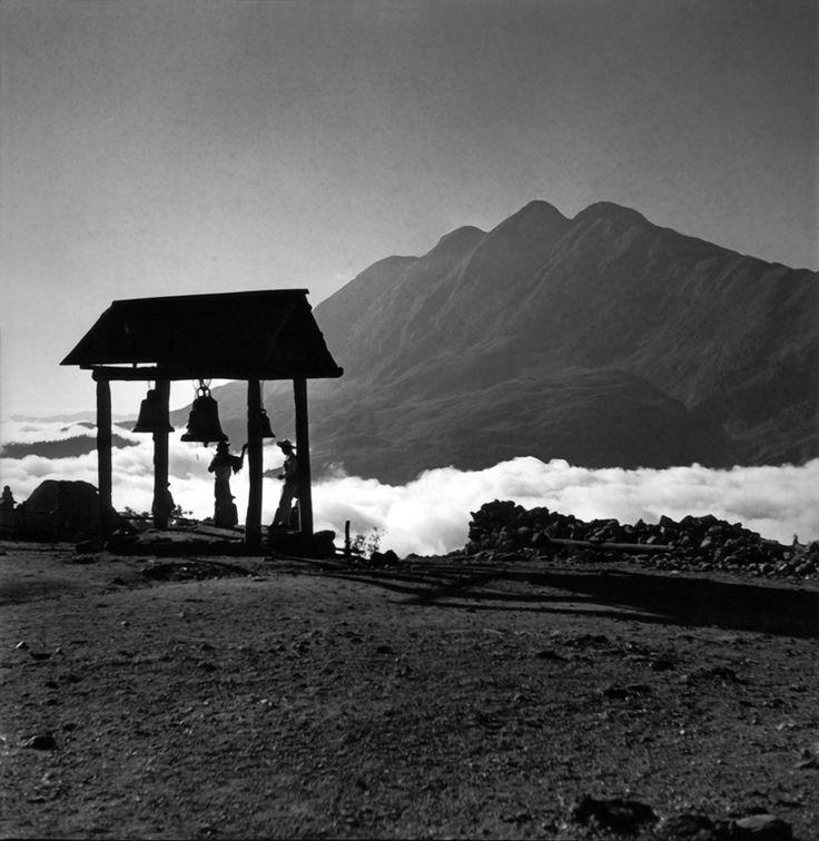 JUAN RULFO - Bell and Zempoaltépetl, Oaxaca,1955