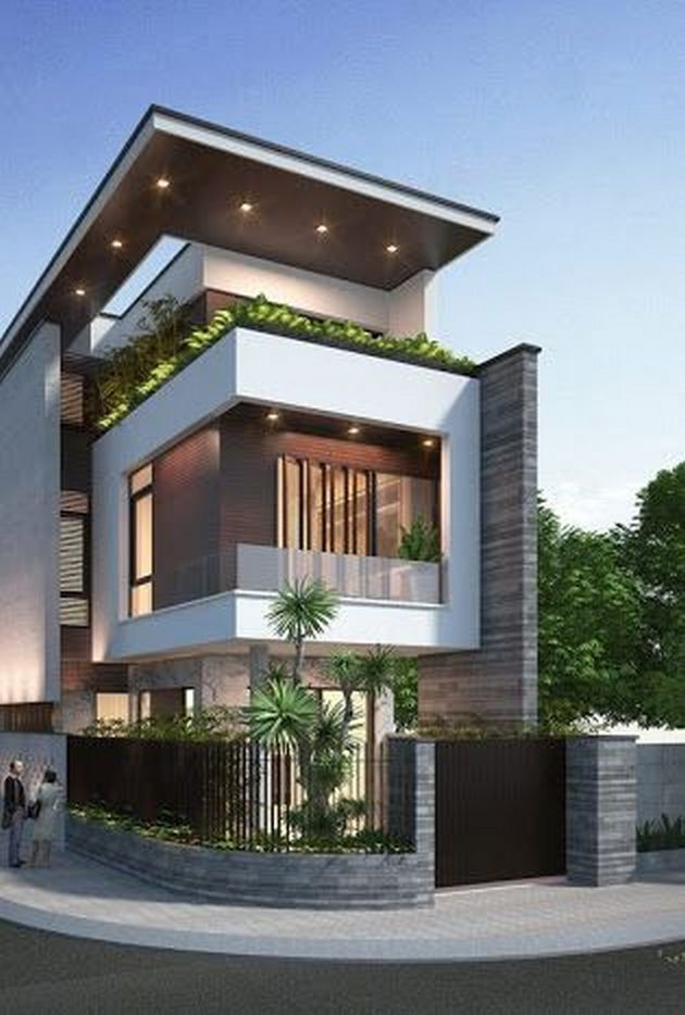 Modern Exterior Design Ideas 27 Architecture House Modern House Plans Minimalist House Design