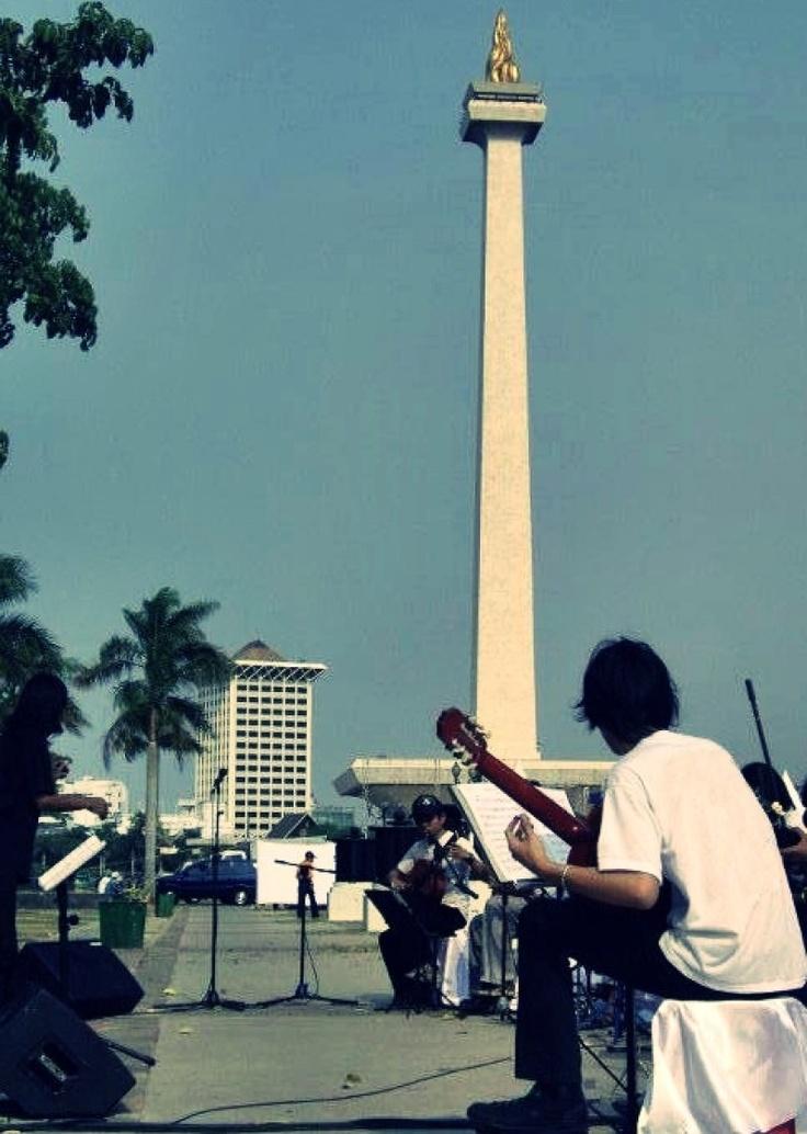 Monas, Jakarta, Indonesia.