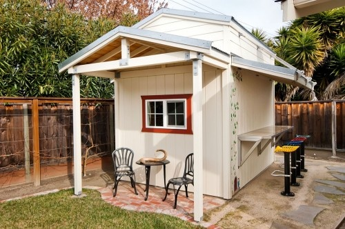 Backyard Bar Shed : Backyard bar and shed  For the Home  Pinterest