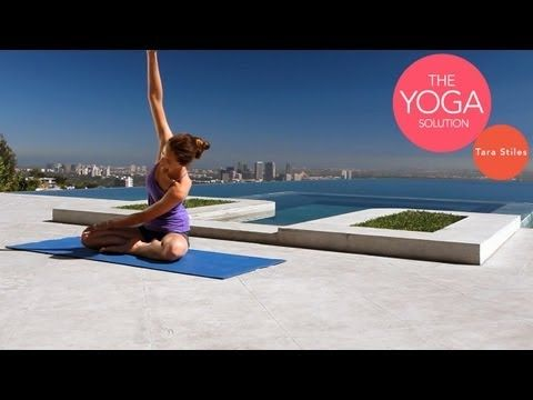 Weight Loss Yoga | Beginner Strengthening Flow | The Yoga Solution With Tara Stiles
