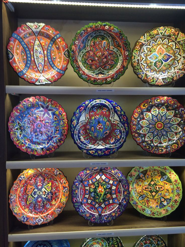 108 best TURKISH CERAMIC PLATES, IZNIK CERAMIC PLATES