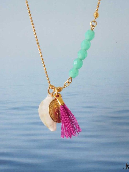by-kiMMik_life-is-a-beach#1_sfeer Ketting Life is a Beach € 30,00 Brainy Days