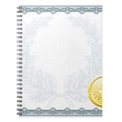 #template - #Certificate Diploma Background Template Notebook