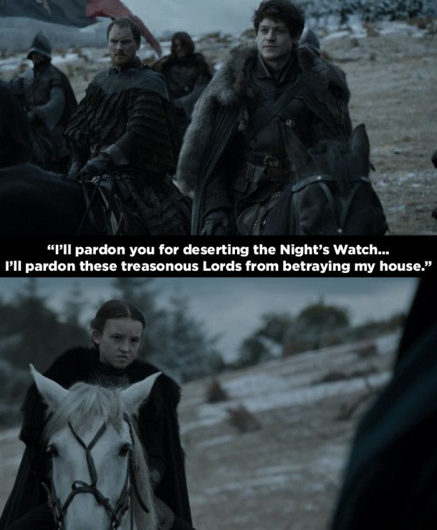 """In the latest Game of Thrones there was a blink-and-you'll-miss-it appearance of Lyanna Mormont. 