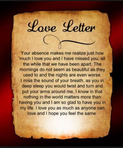 7 best Love letters images on Pinterest Love letters Anniversary