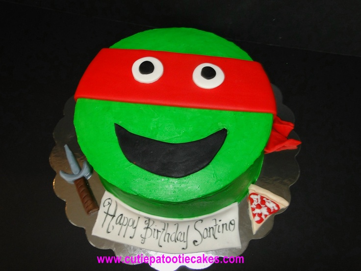 Red Ninja Turtle Cake Cakes Cupcakes And More Party