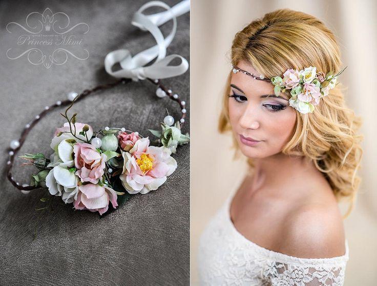 Blumenkranz+Hochzeit+Haarband+Blumen+Dirndl+Krone++von+Princess+Mimi++auf+DaWanda.com – #BlumenkranzHochzeitHaarbandBlumenDirndlKronevonPrincessMimiaufDaWandacom
