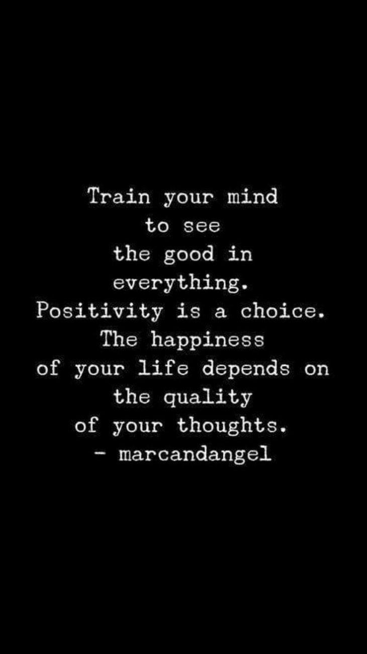 Positivity is a choice Make your choice