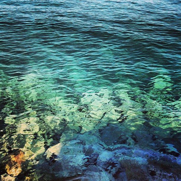yeşil ve mavi...(Bozcaada İskele)