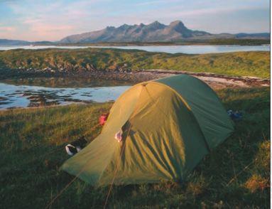 Sandnessjøen Camping Flott base for turen vår til De Syv Søstre http://www.ssj.no/