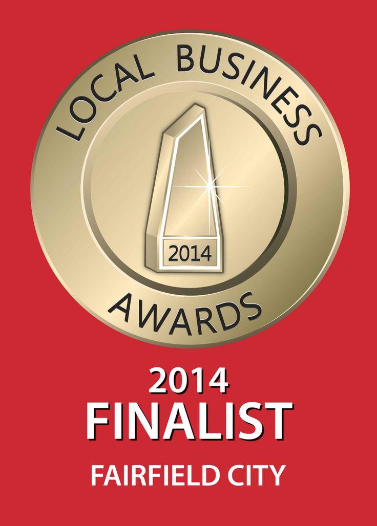 Local Business Awards Finalist 2014