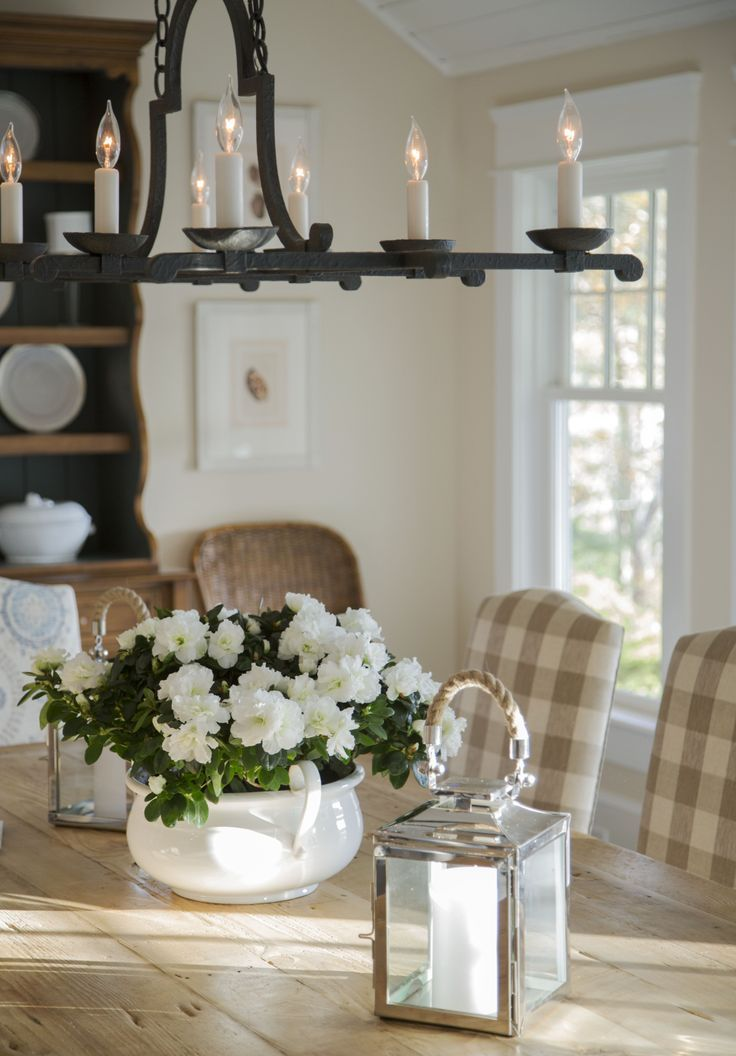 pretty dining room decorations