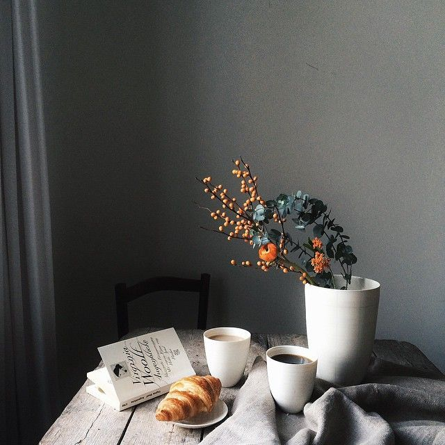 quiet breakfast. morning sunlight.
