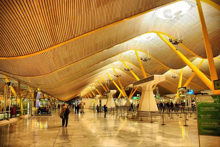 Madrid. Aeropuerto de Madrid Barajas - T4