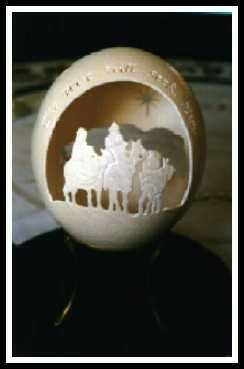 Es increíble lo que se puede hacer con un cascarón de huevo y un láser!