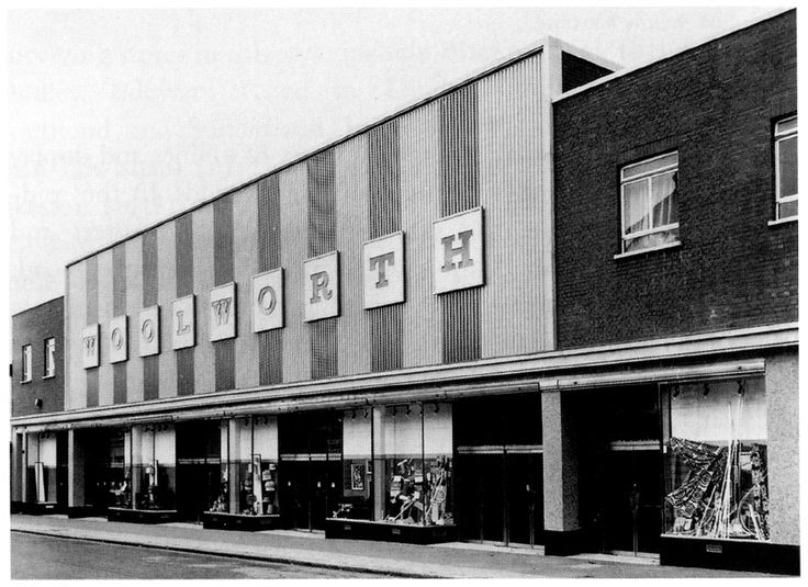 Woolworth's, Walthamstow (1972). Was this the ugliest of them all?
