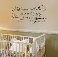 cute saying for nursery