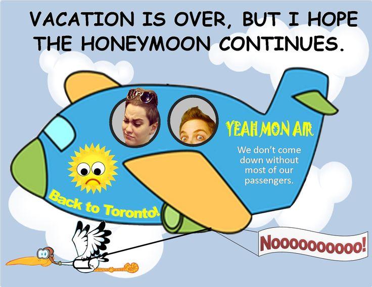 Ajay and Zaira return from their honeymoon.