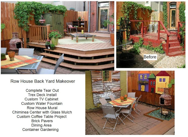 house back yard inspiration an hgtv makeover from me my tv