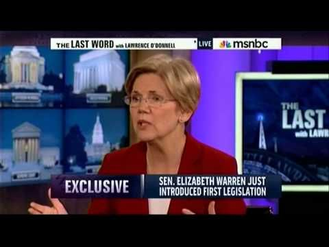 Sen. Warren on The Last Word with Lawrence O'Donnell - http://www.us2016elections.com/sen-warren-on-the-last-word-with-lawrence-odonnell/