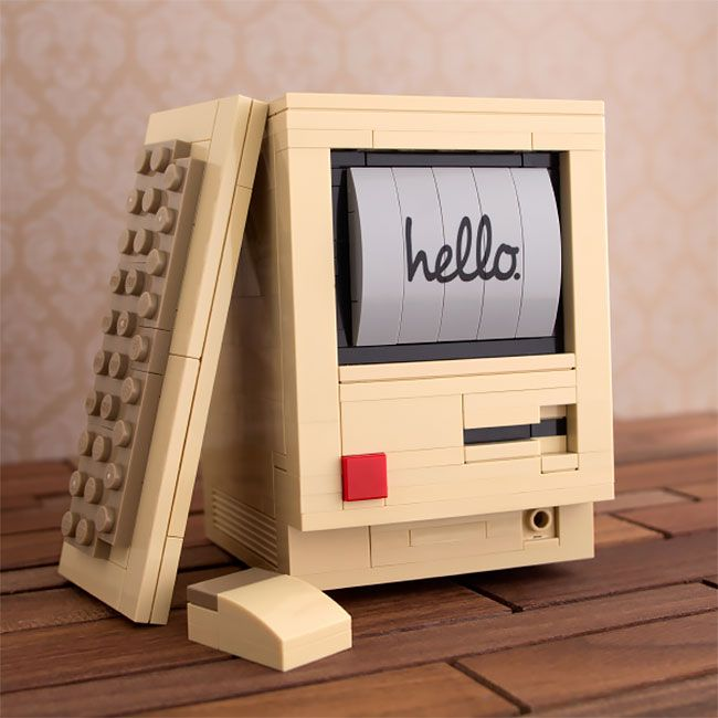 Head Back To The 80s With Chris Mcveigh's LEGO Retro Desk Kits