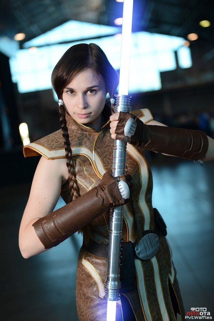 Jedi Grand Master Satele Shan (cosplay) by Svetliy-Sudar ...  Jedi Grand Mast...