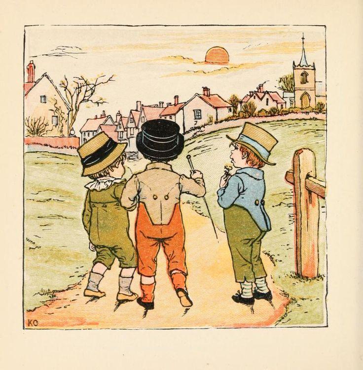 842 best kate greenaway images on Pinterest | Baby books, Children ...