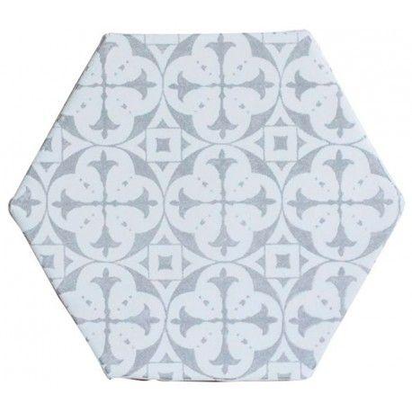 Carrelage hexagonal CEVH0012 - Comptoir du Cérame