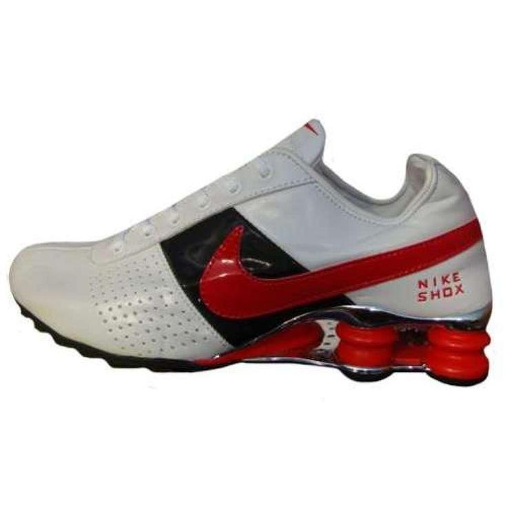 the latest f47d6 7cf55 ... Tênis Nike Shox Deliver Branco Preto e vermelho  http   rafaela.megafashion. ...