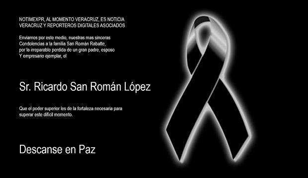 Nuestras mas sinceras condolencias para la familia San Roman Rabatte - http://www.esnoticiaveracruz.com/nuestras-mas-sinceras-condolencias-para-la-familia-san-roman-rabatte/