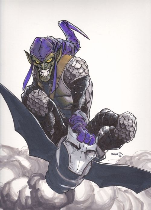 Green Goblin by Humberto Ramos